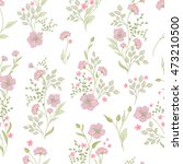 small flower pattern. vintage... | Shutterstock . vector #473210500