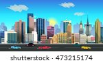 City Game Background 2d ...
