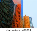 buildings in city | Shutterstock . vector #473224