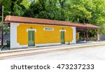 the old traditional train... | Shutterstock . vector #473237233