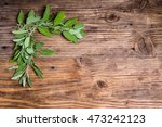 freshly picked variegated and... | Shutterstock . vector #473242123