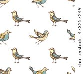 vector seamless pattern of... | Shutterstock .eps vector #473257249