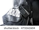 Police Body Camera On Tactical...