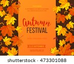 Autumn Festival Background....