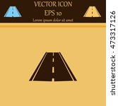 road icon  vector | Shutterstock .eps vector #473317126