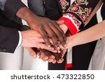 people of different... | Shutterstock . vector #473322850
