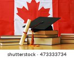 a theme based image of canadian ... | Shutterstock . vector #473333734