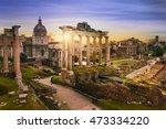 roman forum. image of roman... | Shutterstock . vector #473334220