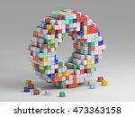 3d rendering of colorful...   Shutterstock . vector #473363158