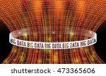 futuristic vector backdrop and... | Shutterstock .eps vector #473365606