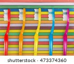 toothbrush. | Shutterstock . vector #473374360
