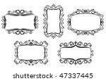 vector version. vintage frame... | Shutterstock .eps vector #47337445