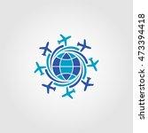travel logo icon