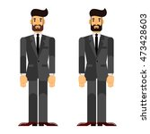 businessman  investor  boss.... | Shutterstock .eps vector #473428603