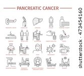 pancreatic pancreas cancer... | Shutterstock .eps vector #473454160