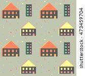 seamless pattern in modern... | Shutterstock .eps vector #473459704