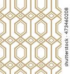 abstract pattern in arabian... | Shutterstock .eps vector #473460208