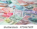 banknotes from different... | Shutterstock . vector #473467609