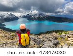 hike on garibaldi lake near... | Shutterstock . vector #473476030