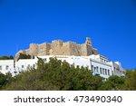 Patmos Monastery  Colors  Greece