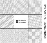 set of vector geometric...   Shutterstock .eps vector #473527468