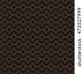 dark delicate seamless pattern...   Shutterstock . vector #473527999