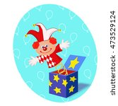 clown toy | Shutterstock . vector #473529124