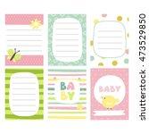 funny print vector design. baby ... | Shutterstock .eps vector #473529850