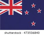a flag illustration of the... | Shutterstock . vector #473536840