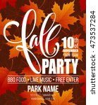 Fall Party. Template For Autum...