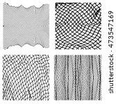 net pattern. rope net vector... | Shutterstock .eps vector #473547169