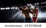 box professional match . mixed... | Shutterstock . vector #473558068