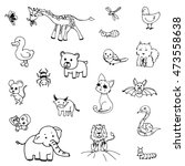freehand drawing outline doodle ...   Shutterstock .eps vector #473558638