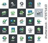 vector logo money | Shutterstock .eps vector #473571610