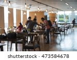 blurred picture of costomer is... | Shutterstock . vector #473584678