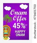 creative sale banner or sale... | Shutterstock .eps vector #473601703
