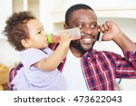 father and daughter | Shutterstock . vector #473622043