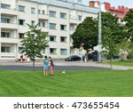 helsinki  finland   july 21 ... | Shutterstock . vector #473655454