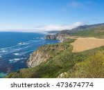 Small photo of Big Sur is a sparsely populated region of the Central Coast of California where the Santa Lucia Mountains rise abruptly from the Pacific Ocean.