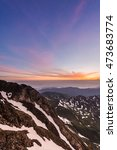 Small photo of Sunrise on Pic du Midi de Bigorre, Hautes Pyrenees, France