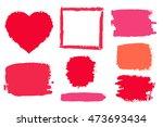 vector background set of... | Shutterstock .eps vector #473693434