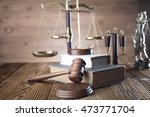 law theme | Shutterstock . vector #473771704