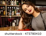 me and my dreams. portrait of a ...   Shutterstock . vector #473780410