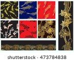 hand drawn set vector...   Shutterstock .eps vector #473784838