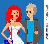 flat vector creative character...   Shutterstock .eps vector #473824636