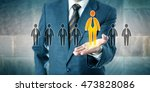 successful candidate is... | Shutterstock . vector #473828086