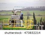 Small photo of Turkey - February 20,2015 :Aksa acrylic fiber plant. Aksa is Turkey's largest fiber factory. Worldâ??s leading acrylic fiber manufacturer.