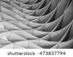 study of patterns and lines  | Shutterstock . vector #473837794