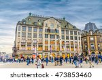 amsterdam  the netherlands   28 ... | Shutterstock . vector #473853460
