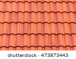 Close Up Of Red Roof Texture...